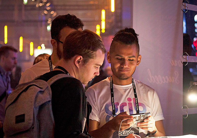 Grib at Slush 2017
