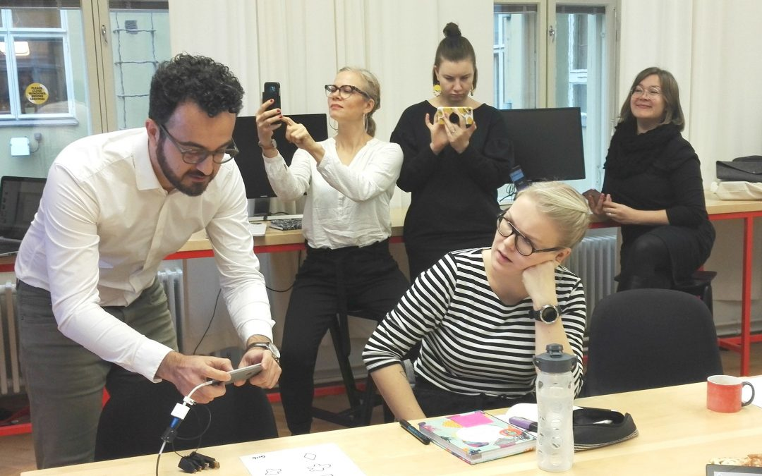 Part 2: Workshop on using Grib 3D's Augmented Reality in classrooms